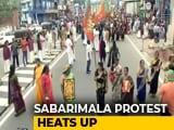 Video : Massive Protest Against Sabarimala Verdict To Reach Thiruvananthapuram