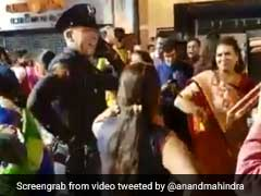 From Anand Mahindra's #WhatsAppWonderBox: Delightful Clip Of US Cops Doing <i>Garba</i>