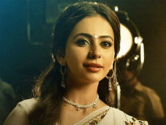Presenting Rakul Preet Singh As Sridevi In NTR Biopic