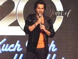 Video : Varun Dhawan On SRK's Wet Look In <i>Kuch Kuch Hota Hai</i>