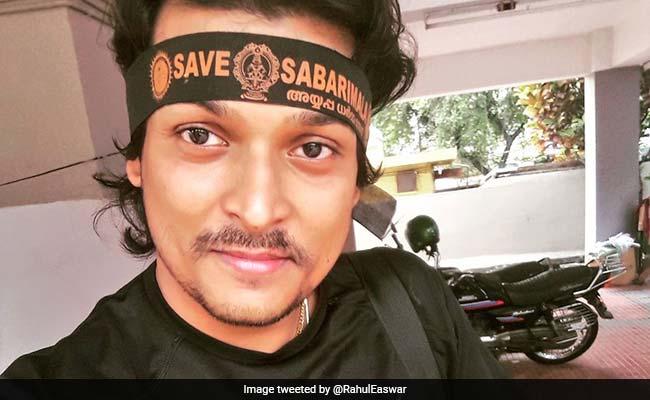 Sabarimala Row: Activist Rahul Easwar Arrested For Defying Bail Condition