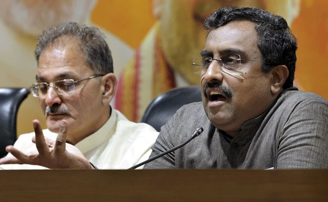 'Teflon-Coated' Liberals Pose Challenge To Country: Ram Madhav