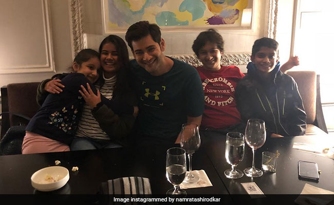 Finally, Mahesh Babu Features In Namrata Shirodkar's New Pic From New York