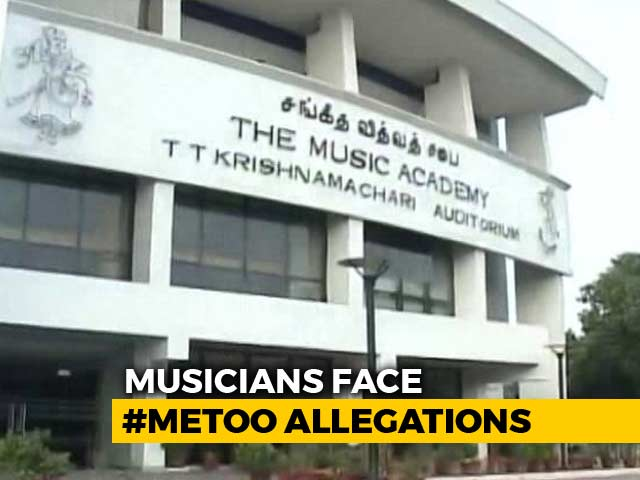 Video : #MeToo Impact: Madras Music Academy Bans 7 Artistes From December Event