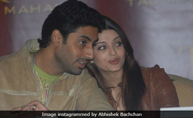 This 'Unforgettable' Pic Of Abhishek And Aishwarya Rai ...
