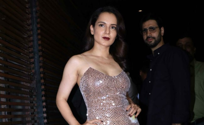 Kangana Ranaut Wraps Manikarnika With A Party. See Pics And Video