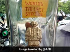 Artist Creates Smallest Version Of World's Tallest Statue Of Sardar Patel