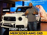 Video: New Mercedes-AMG G63 In India: First Look