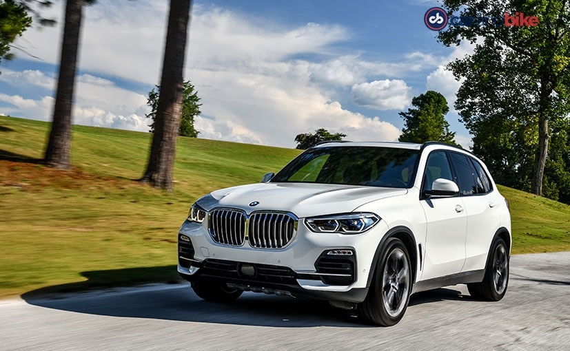 The BMW X5 is being offered with two diesel and two petrol engines for starters
