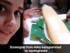 काजल राघवानी डिनर के लिए पहुंचीं रेस्टॉरेंट, ऑर्डर आया तो बोलीं- 'इतना बड़ा डोसा'... देखें Video