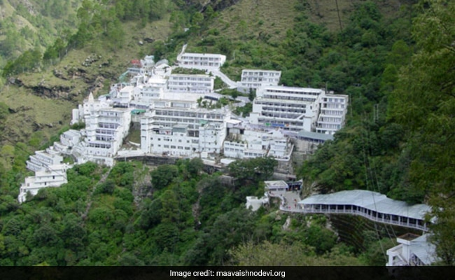 Helicopter, Ropeway To Vaishno Devi Shrine Suspended Due To Heavy Snow