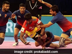 PKL: Dabang Delhi Rally To Hold Gujarat Fortunegiants 32-32