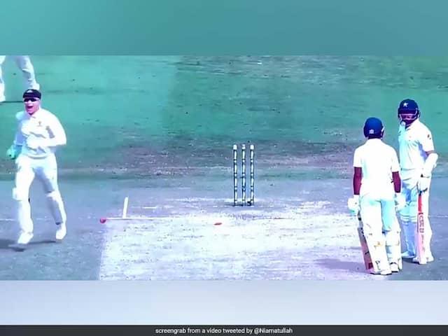 Azhar Ali Explains The Bizarre Run Out During 2nd Test vs Australia