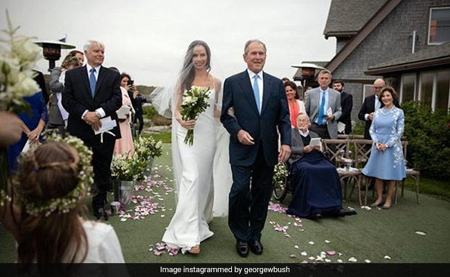 George W Bush S Daughter Barbara Marries In Low Key Wedding
