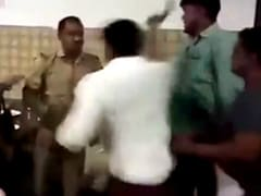 "BJP Leader Thrashes ""Drunk"" Cop At His Restaurant In UP, Arrested"