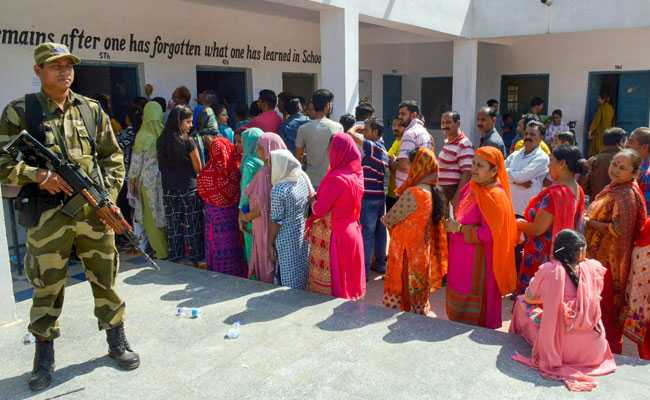 Jammu And Kashmir Rural Polls Record 75.8 Per Cent Turnout In 7th Phase