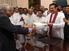 Mahinda Rajapaksa Takes Over As Sri Lanka's Prime Minister
