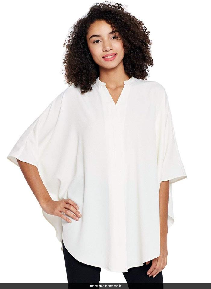 b069134f16 Like Kajol, Rock An Oversized White Shirt While Travelling