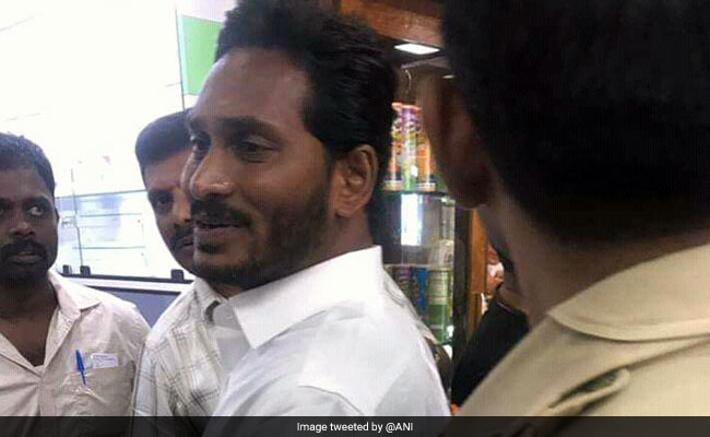 Man Involved In Attack On Jagan Reddy Released On Bail