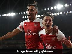 Premier League: Pierre-Emerick Aubameyang, Mesut Ozil Star As Arsenal Make It Perfect 10