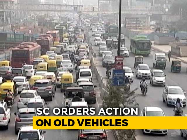 """Video : Delhi Air """"Pitiable"""", Says Top Court, Orders Action Against Old Vehicles"""