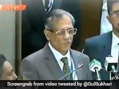 पाकिस्तान के चीफ जस्टिस ने बताया पानी का ऐसा फॉर्मूला, सुनकर रोक नहीं पाएंगे हंसी, वायरल हुआ VIDEO
