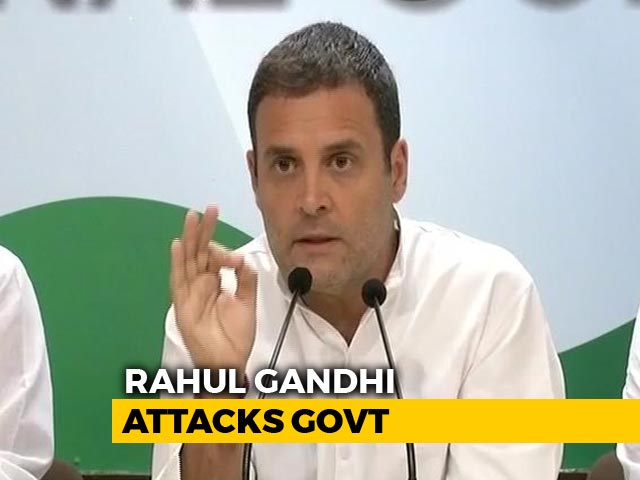 Video : Moment CBI Inquiry Begins In Rafale, PM Knows He's Finished: Rahul Gandhi