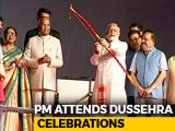 Video : PM Modi, President Kovind Attend Dussehra Festivities In Delhi