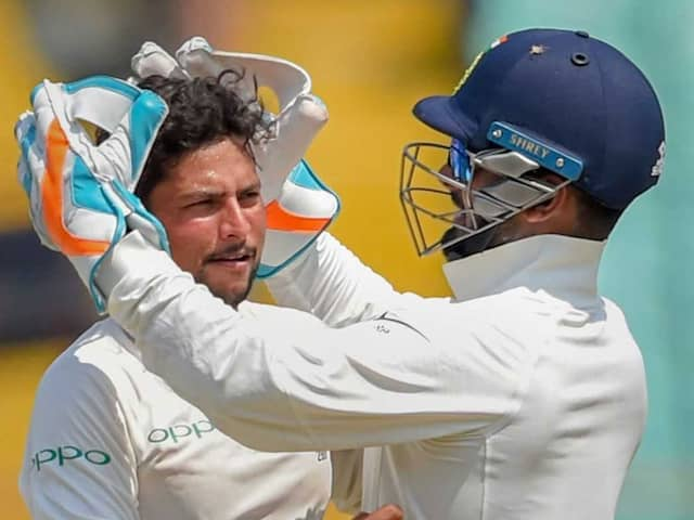 India vs West Indies: Kuldeep Yadav Joins Elite List After Maiden 5-Wicket Haul In Tests