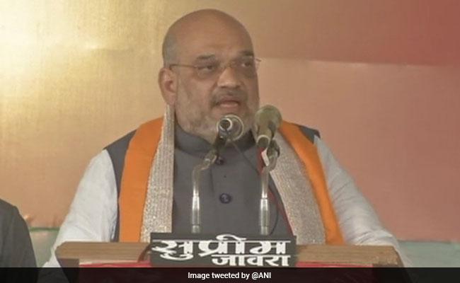अमित शाह का राहुल गांधी पर जोरदार हमला, बोले- PM से सवाल पूछने के बजाय अपनी चार पीढ़ियों का हिसाब दें