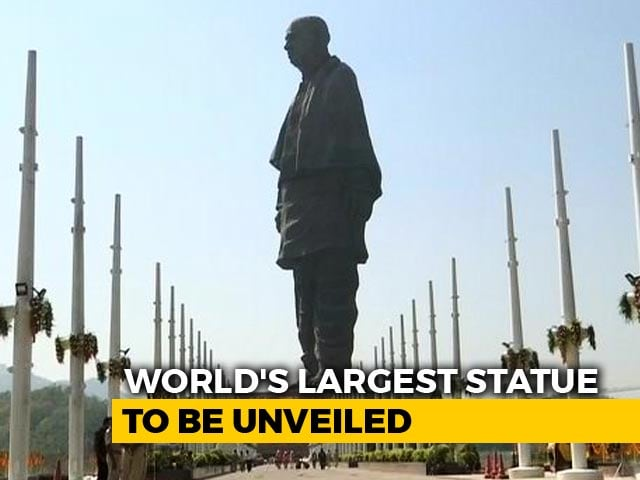 Video : PM To Unveil Sardar Vallabhbhai Patel's Statue Of Unity Today