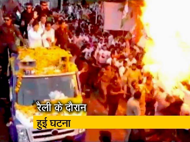 Video : कांग्रेस अध्यक्ष राहुल गांधी की सुरक्षा में चूक
