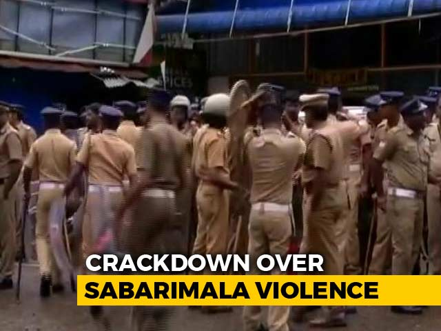 Video : More Than 2,000 Sabarimala Protesters Arrested Across Kerala