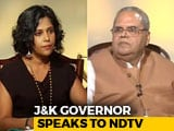 Video: Jammu And Kashmir Local Body Polls A Success, Says Governor Satya Pal Malik
