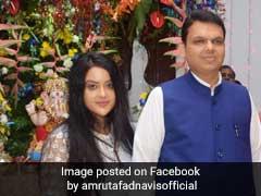 """Proud Of Your Decision"": Amruta Fadnavis To Husband Devendra Fadnavis"