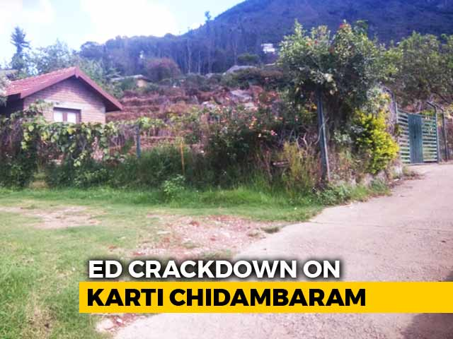 """Video : """"Outlandish,"""" Tweets Karti Chidambaram As Assets Seized In India, Abroad"""