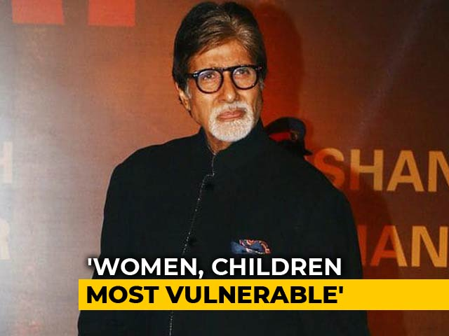 "Video : Big B, 76 Today, Says ""No Woman Should Be Subject To Misbehaviour"""
