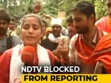 Video : Mob Attacks Journalists Near Sabarimala, NDTV Crew Blocked By Protesters