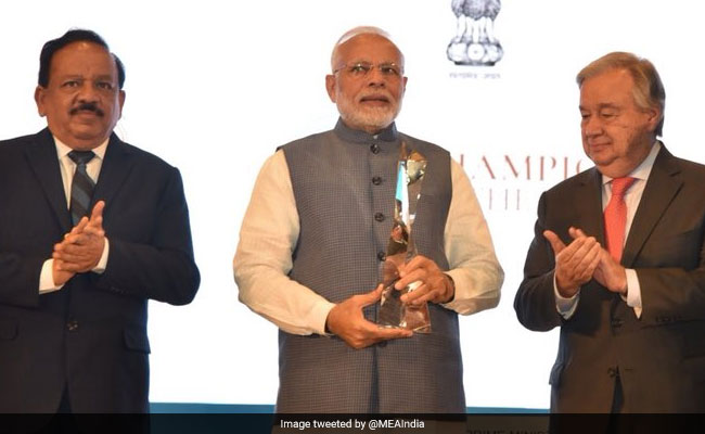 Climate And Calamity Linked To Culture: PM Modi