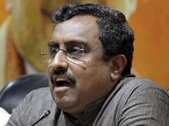 """Some Concerns Genuine,"" Says BJP's Ram Madhav On Citizenship Bill"