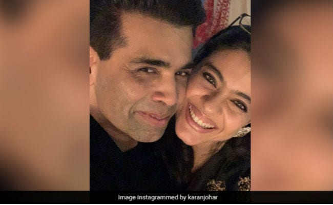Karan Johar Shares A Photo With Kajol From The Screening of Helicopter Eela