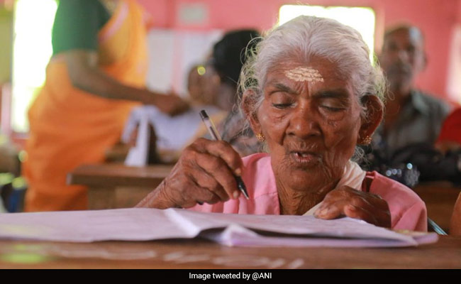 This 96-Year-Old Woman Scored 98 Per Cent In Kerala Exam