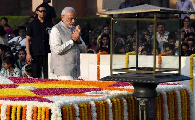 Nation Pays Tribute To Mahatma Gandhi On 149th Anniversary: Highlights