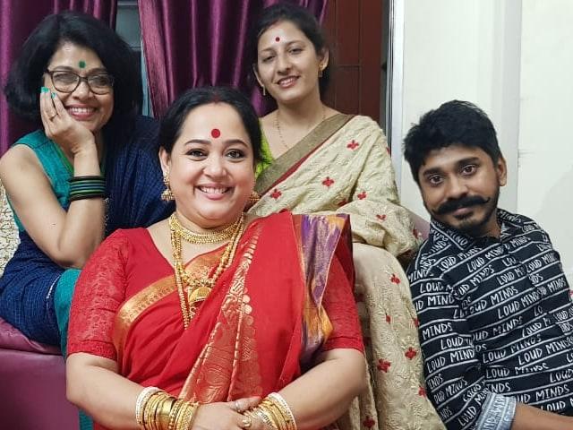 Video : কোজাগরী লক্ষ্মীপুজোর আড্ডায়  NDTV বাংলার মুখোমুখি  অপরাজিতা আঢ্য