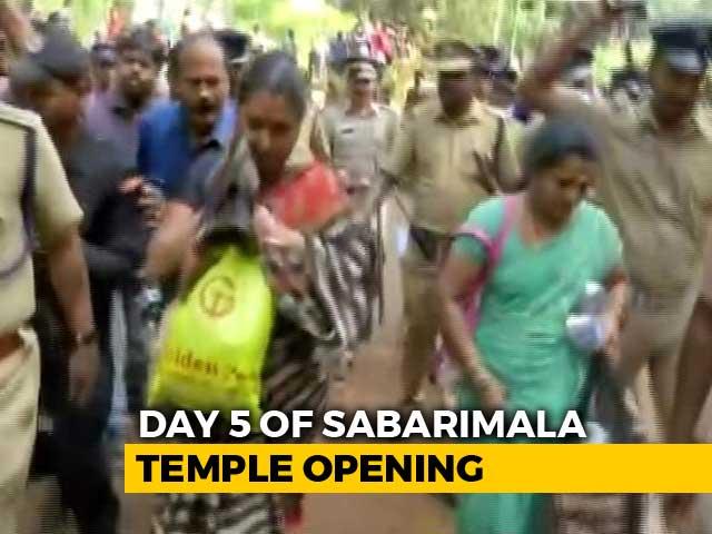 Video : Only 9 Women Below 50 Attempted Sabarimala Trek, Temple Closes Tomorrow