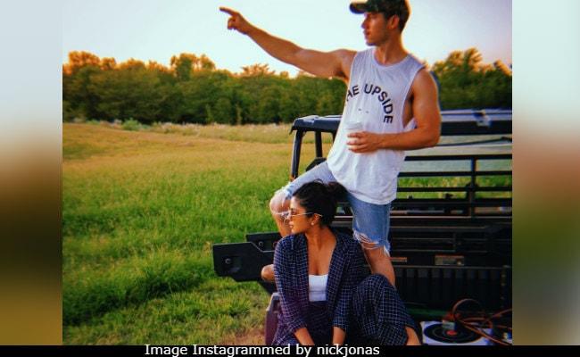 Priyanka Chopra, Nick Jonas Are Future-Gazing In This Pic