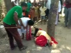 Muslim Teen Tied To Tree, Thrashed For Eloping With Hindu Man In Bihar