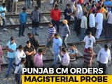 Video : Before Amritsar Tragedy, People Stood On Elevated Tracks For Better View
