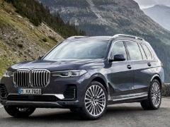 2019 BMW X7 Unveiled