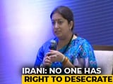 Video : Amid Sabarimala Row, Smriti Irani's Sanitary Pad Comment, And A Question